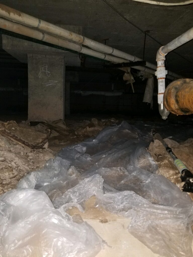 Crawl Space Cleaning burlingame