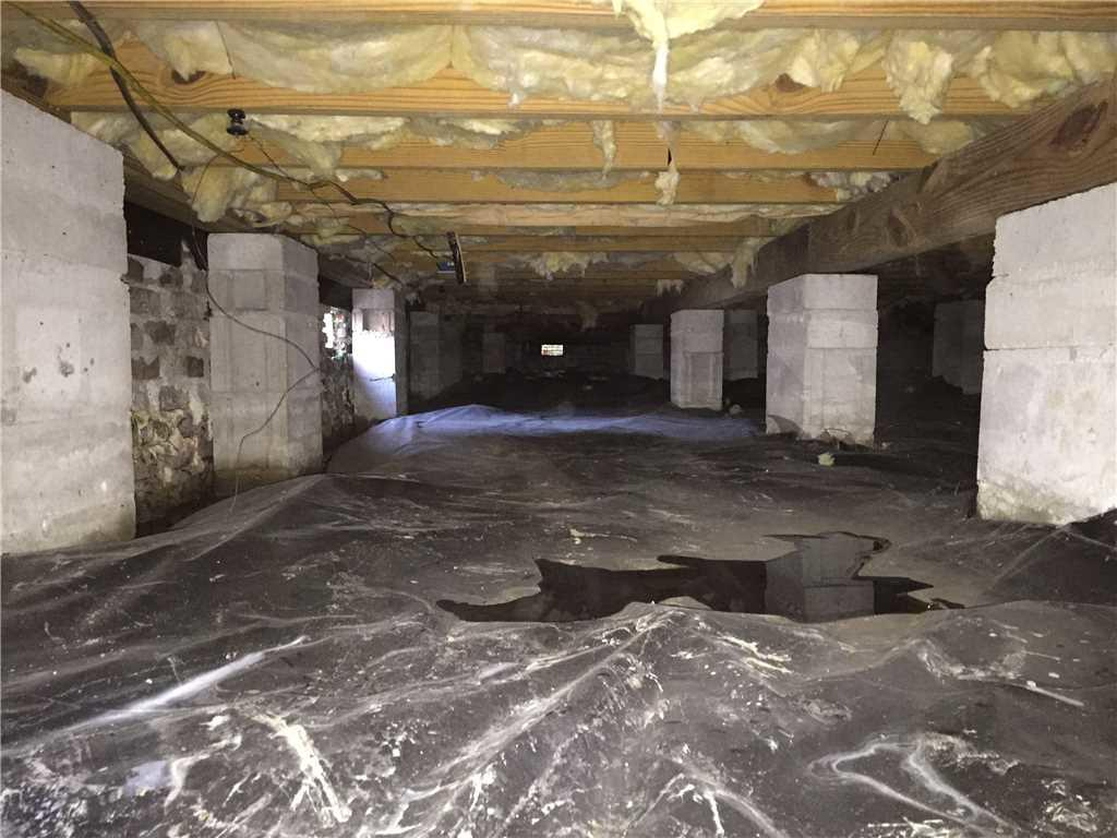 crawl space cleaning campbell