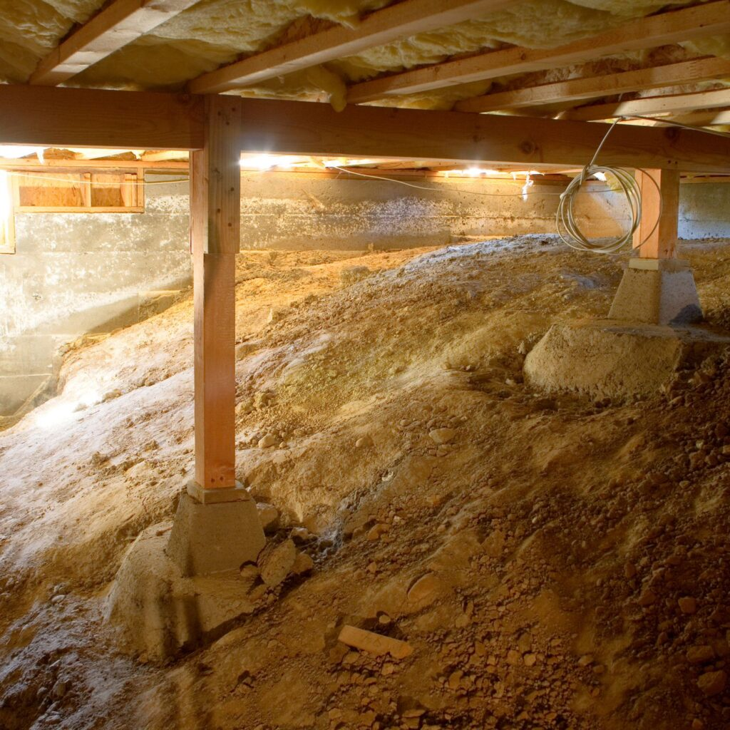 crawl space cleaning concord
